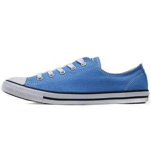 Converse | Blue All Stars Low